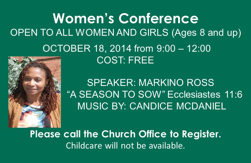 Women's Conference @ Bethel Baptist Church
